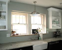 pendant light over kitchen sink with island lighting ideas cute