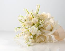 wedding flowers valley of the valley bouquet bridal bouquet of white
