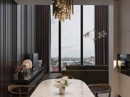 luxury interior design with contemporary lighting designs