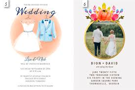 invitations templates 12 editable templates for wedding invitations everafterguide