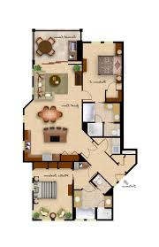 2 Bedroom Condo Floor Plans Home Design Lovely Two Bedroom House Plans 2 Floor Inside 85