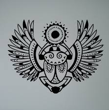 ancient egyptian home decor egyptian symbol khepri wall decal scarab beetle vinyl sticker