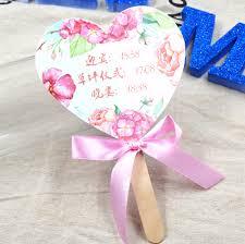 Wedding Program Fans Cheap Popular Paper Fan Custom Buy Cheap Paper Fan Custom Lots From