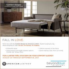 American Leather Comfort Sleeper Sale News And Events Beyondblue Interiors Raleigh Durham Chapel