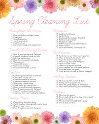 House Cleaning List Template Spring Cleaning Free Printable How To Nest For Less