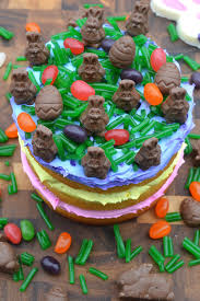 easter candy cake souffle bombay