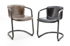 Esszimmerst Le Leder Cognac Stühle Aus Der Wohnsektion Die Kollektion Ansehen