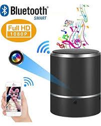 motion l wireless speaker sweet deal on wifi 1080p hd spy cam bluetooth speaker cam wireless