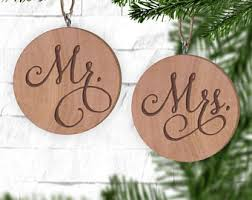 Christmas Ornaments With Initials Arrow Heart With Initials Ornament Engraved Wooden Gift Tag