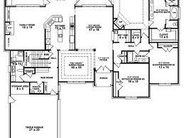 3 bedroom 3 bath house plans 5 bedroom ranch house plans best home design ideas