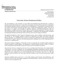 postdoc cover letter example choice image letter samples format