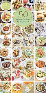 Summer Lunch Ideas For Entertaining - 50 summer picnic recipes
