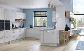 kitchens modern light grey kitchen modern normabudden com