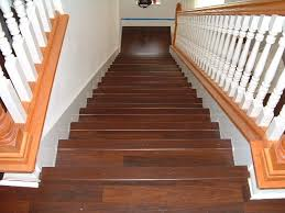laminate or hardwood on stairs preparation ta bay by