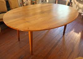 Oval Drop Leaf Table 19th Century French Oval Drop Leaf Farm Table At 1stdibs