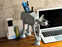 Star Wars Computer Desk At At Multi Stand Is The Must Have Desk Caddy For Every Star Wars