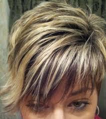 chunky short haircuts asymmetrical haircuts with chunky highlights asymmetrical short