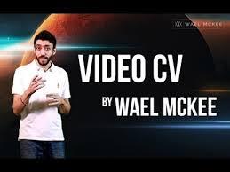 Video Resume India Creative Video Cv Resume Wael Mckee Youtube