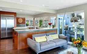 idee deco cuisine ouverte sur salon salon avec cuisine ouverte cuisine com idee deco salon avec cuisine