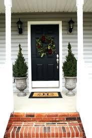 front door paint color ideas ten colors doors bronze tone brick