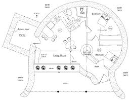 earth sheltered earthbag house plans
