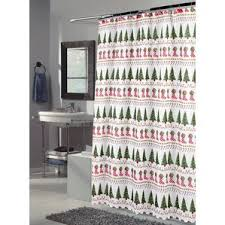 Can I Put A Shower Curtain In The Washing Machine Christmas Shower Curtains You U0027ll Love Wayfair