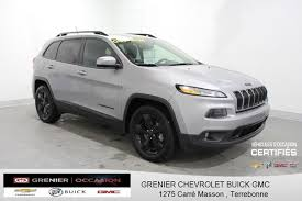jeep chevrolet 2015 used 2015 jeep cherokee 4x4 v6 4wd north ecran dém à distance sièges