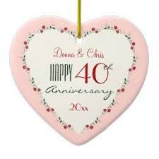 wedding anniversary ornaments cheering ornaments keepsake ornaments zazzle