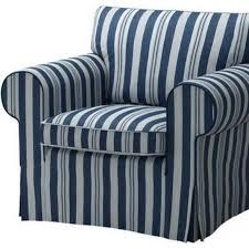 Ektorp Armchair Old U003e Armchair Cover Abyn Blue Ikea Ektorp Single Seat Sofa Home