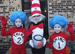 Dr Seuss Characters Halloween Costumes Halloween Costume Prize Winners