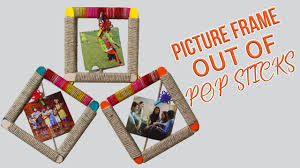 diy wall hanging how to make popsicle stick photo frame diy diy wall hanging how to make popsicle stick photo frame diy home decor