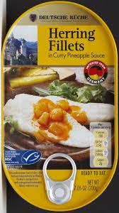 deutsche küche aldi deutsche küche herring fillets in curry pineapple food