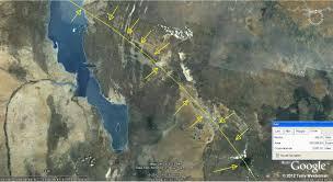 Lake Victoria Map The Lake Victoria Meteor Impact