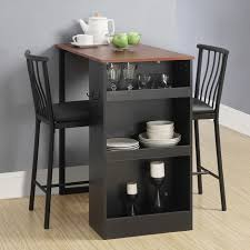 living room counter height dining table small apartment