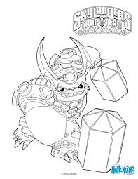 wallop coloring page cole u0027s 6th birthday pinterest skylanders