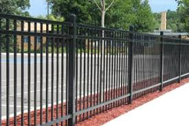 commercial steel fences mn