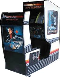 sit down arcade cabinet spy hunter cabinet image gaming spyhunter oldschool old
