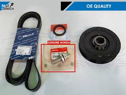 lexus is200 vs honda civic for honda accord cr v civic 2 2 cdti crankshaft pulley fan belt