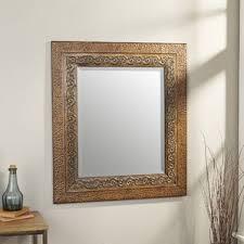 Metal Framed Bathroom Mirrors by Rustic Wall Mirrors You U0027ll Love Wayfair