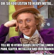 Iron Maiden Memes - metal problems memes on twitter heavymetal metallica slayer