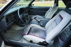 86 Mustang Gt Interior Matchless Mustang 1986 Ford Mustang Gt An Origina Hemmings