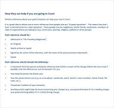 best ideas of example of a good character reference letter for