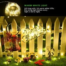 Despicable Me Christmas Lights kohree solar powered string lights 120 led 20ft copper wire starry