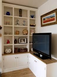 alcove bookcase media cabinets bookshelves bespoke design
