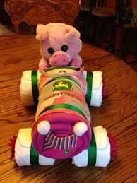 john deere tractor diaper cake for baby shower u2013 fiore u2013 medium