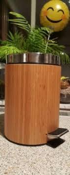 badezimmer bambus mülleimer kosmetikeimer bad eimer badezimmer bambus in brandenburg
