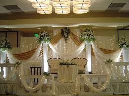 wedding venue backdrop simple wedding decorations church stage for reception themes on