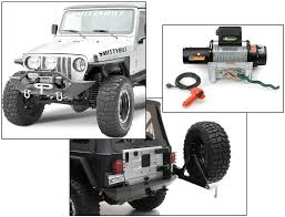 Flag Pole Winch 1997 2006 Wrangler Tj Winches U0026 Safety Gear Quadratec