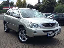lexus rx 400h used for sale lexus rx 400h 3 3 se cvt 5dr for sale at cmc cars near brighton