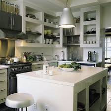 laboratoire de cuisine cuisines autour d un bloc central appareils ménagers dans cette
